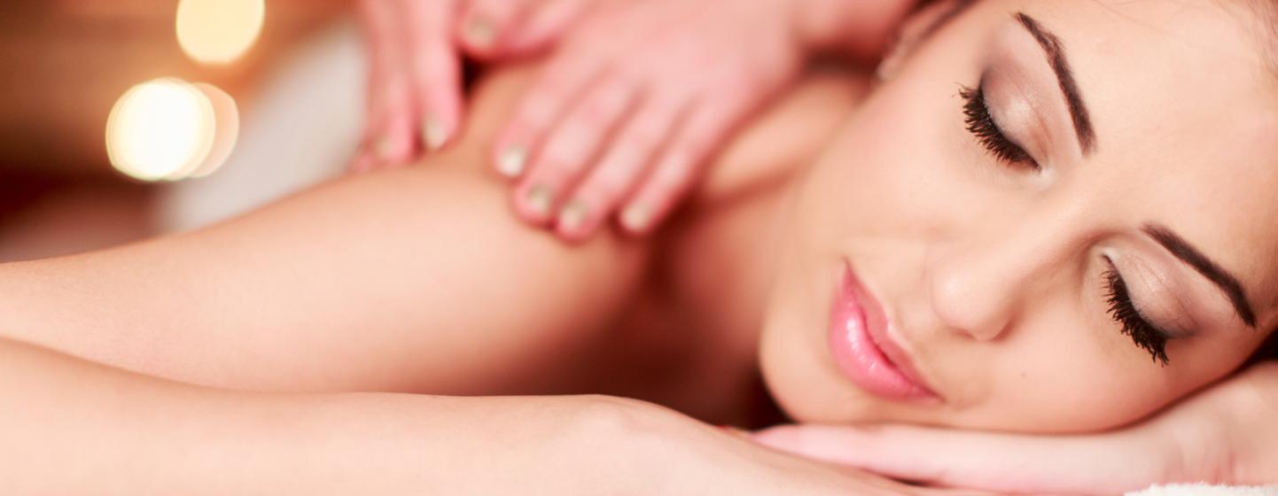 Massagem corporal no The Hair club